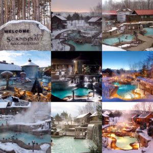 Scandinave Mineral Bathes Spas Scandinave Mont-Tremblant & Montreal  Quebec Canada Natural Hot Mineral Spring Destinations